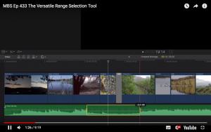 La Versátil Herramienta de Range Selection en Final Cut Pro X