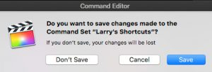 Personaliza tu teclado para Final Cut Pro X