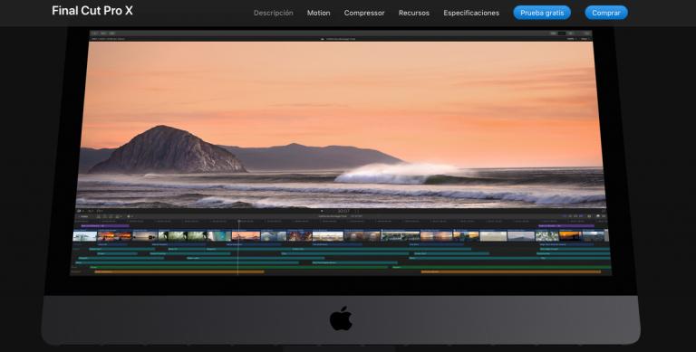Apple actualiza Final Cut Pro X a 10.4.6