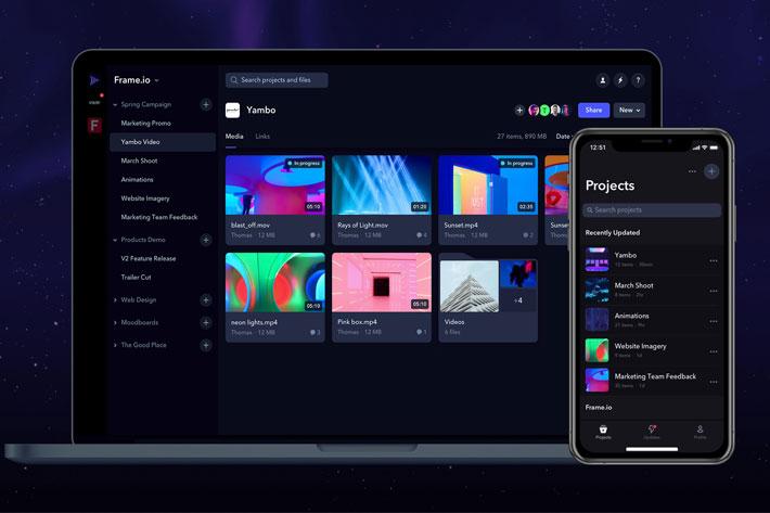 Frame.io introduce 10 nuevas características para mejorar la colaboración de video