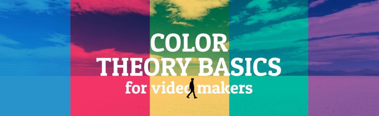 Fundamentos de la teoría del color para los creadores de video.